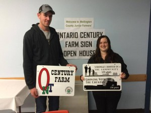 Century Farm Sign Open House