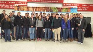 Oxford Junior Farmers visit Louisville
