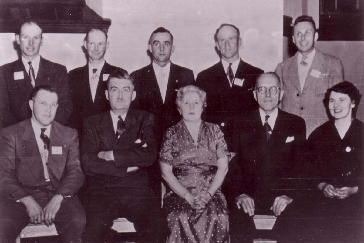first board of JFAO with the Dept of Ag staff-Founders of JFAO 1944